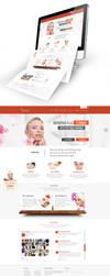 Monica Clinique Web Design by vasiligfx