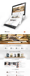Book Quotes Web Design by vasiligfx