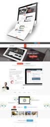 IT Company Web Design by vasiligfx