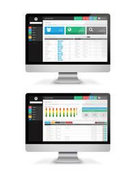 Admin Dashboard UI Design by vasiligfx