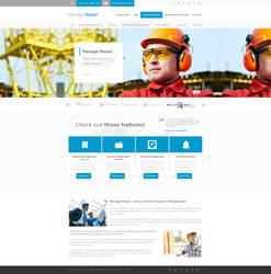 Building Management Web Design by vasiligfx