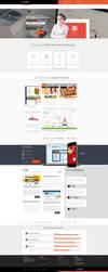 Corporate Portfolio Web Design For Sale by vasiligfx