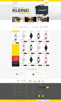 Shop Web Design for SALE by vasiligfx
