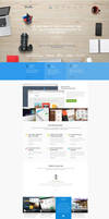 Branding Agency Web Design by vasiligfx