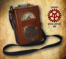 Steam Punk Leather Bag by Steam-HeART