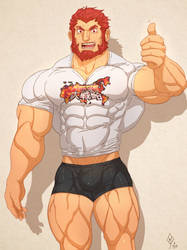 Fanart Friday : Iskandar by Yecow