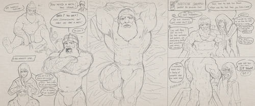 Underminer Sketch Comic by Yecow