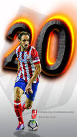 Juanfran-wallpaper-movil by InfiernoRojiblanco