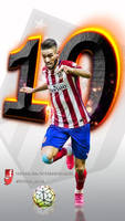 Yannick Carrasco-wallpaper-movil by InfiernoRojiblanco