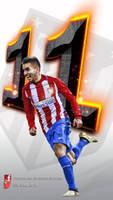 Angel Correa-Atletico de Madrid-wallpaper-movil by InfiernoRojiblanco