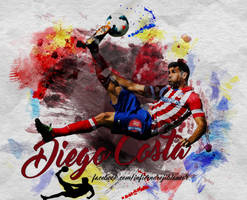Diego Costa by InfiernoRojiblanco