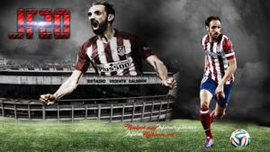 Juanfran Atletico de Madrid by InfiernoRojiblanco