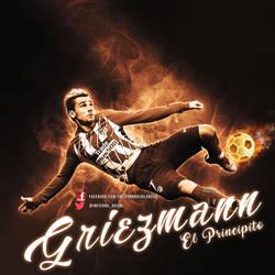 Griezman-chilena by InfiernoRojiblanco