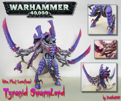 Tyranid SwarmLord Papercraft by DaiShiHUN