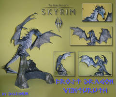 Frost Dragon - Viinturuth (Skyrim) Papercraft by DaiShiHUN