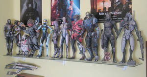 My Mass Effect paper figures 3 by DaiShiHUN