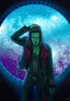 Gamora by ElegantFeatherDuster