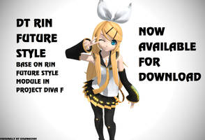 MMD DT Future Style Rin DL (update v2) by segawa2580