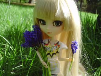 Flower Picking by Polka-dotPanda
