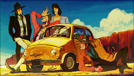LUPIN by yocco