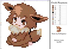 Eevee moemon pattern by didi-gemini