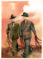 Happy gentlemen by Bonom