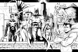 Bat-Family by J-WRIG