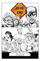 UnDead End #1 BW Cover by J-WRIG