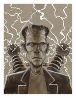 Frankenstein's Monster by J-WRIG