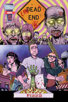 UnDead End #1 Final Cover by J-WRIG