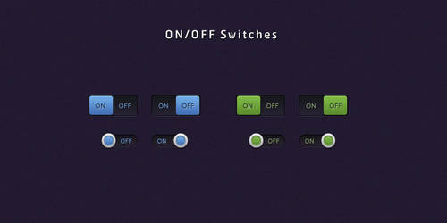 Clean ON-OFF Switches by SuTegin