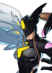 Digimon Story: Cyber Sleuth, Mastemon by SplashBrush