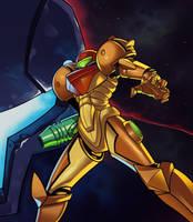 Metroid Prime by SplashBrush