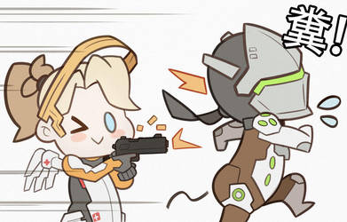 Overwatch by SplashBrush