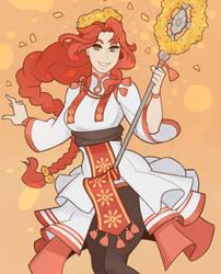 Fire Emblem, Titania by SplashBrush