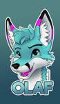 Olaf badge by HauptmannFox