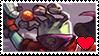 Chucho Krokk awesomenauts stamp by HauptmannFox