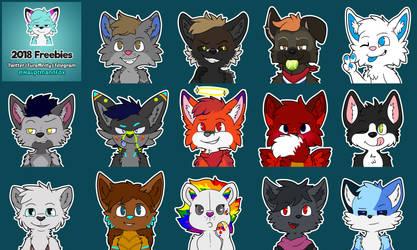Free Telegram stickers! 2018 [ONGOING] by HauptmannFox