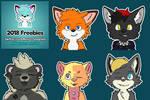 Free Telegram stickers! 2018 megapack - third batc by HauptmannFox
