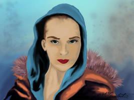 blue hood by MilicaClk