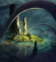 Ruins Speedpaint by MilicaClk