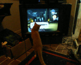 Piper Watching Me Play P3 by Gamer-Britt