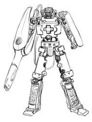 Daily Doodle...  Wiimotoroboto by torokun