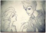 Elsa and Jack by torokun