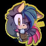 Luna the Skunk by kaykayamy