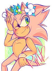 Pink Sonic by kaykayamy