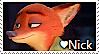 Nick Wilde Stamp by TheMoonRaven
