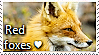 Red Fox Stamp by TheMoonRaven