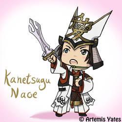 Chibi Kanetsugu Naoe by Artemis-Yates