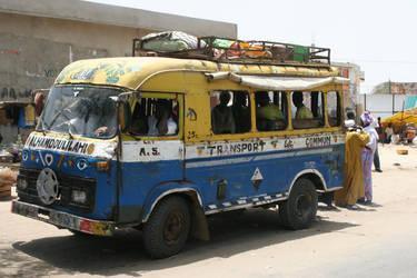 Senegalese Bus by 9nin